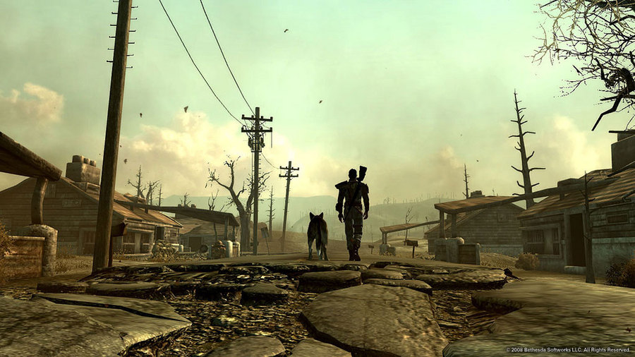 The Lone Wanderer (and Dogmeat)