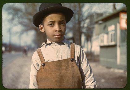 'Negro boy near Cincinnati, Ohio', 1944