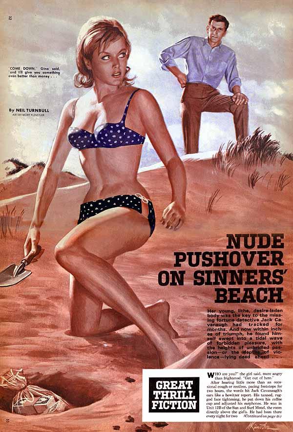 Kunstler - Nude Pushover on Sinners' Beach