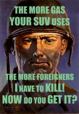 More Gas Equals More War