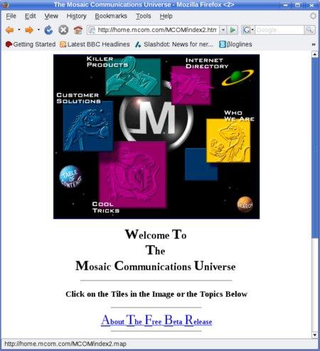 mcom.com homepage
