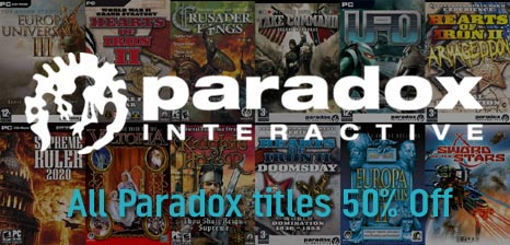 Paradox Sale Week