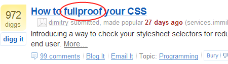 How to FULLPROOF your CSS???