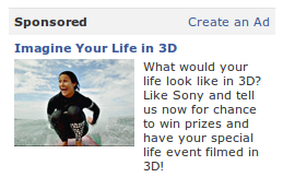 Imagine your life in 3D!