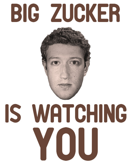 Big Zucker Is Watching YOU