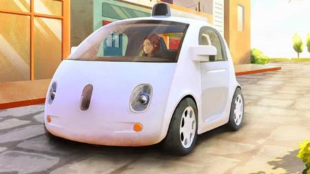 Google self-driving car, design rendering