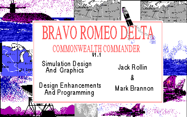 Bravo Romeo Delta title screen