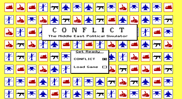 Conflict MEPS: Title screen