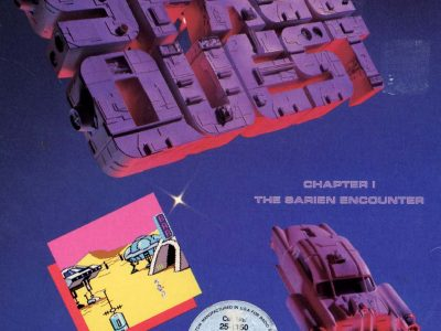 Space Quest 1 box art