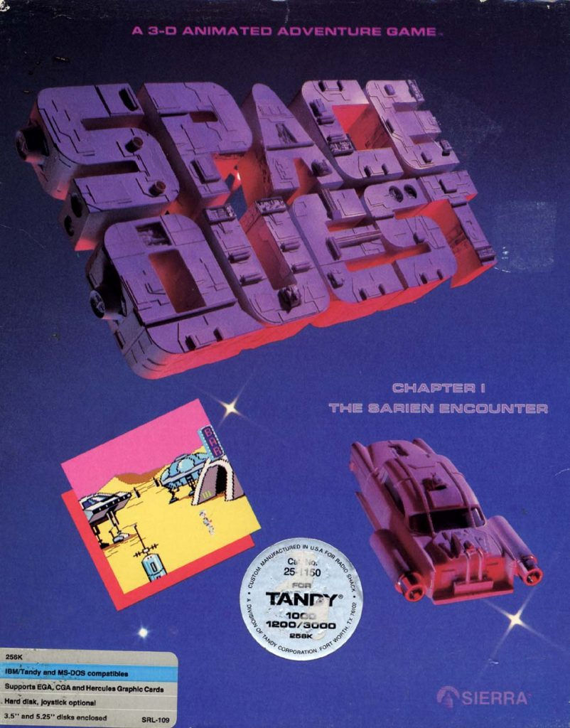 Space Quest 1 box art