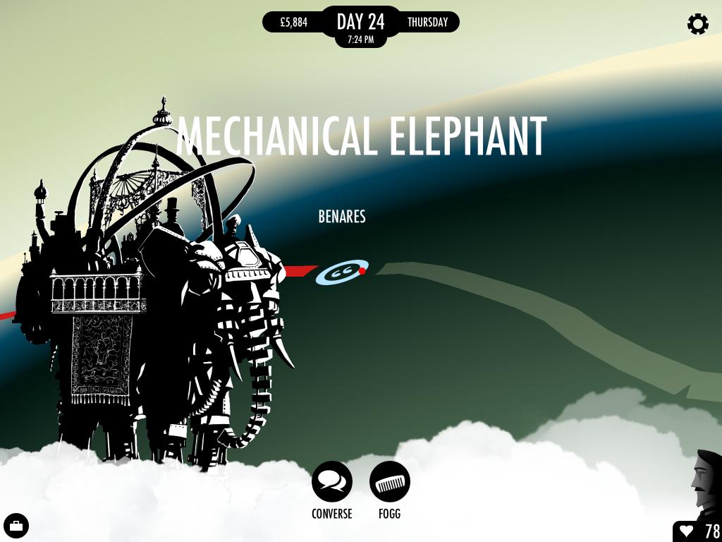 80 Days: Mechanical Elephant