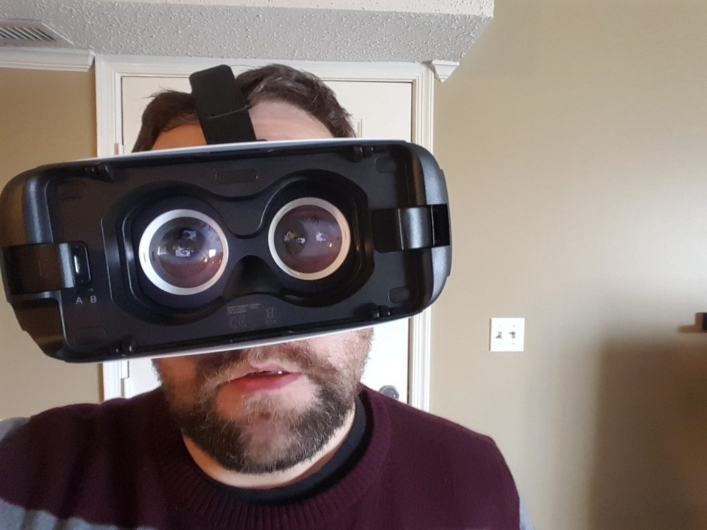 Gear VR: The future is (not quite) here   Just Well Mixed