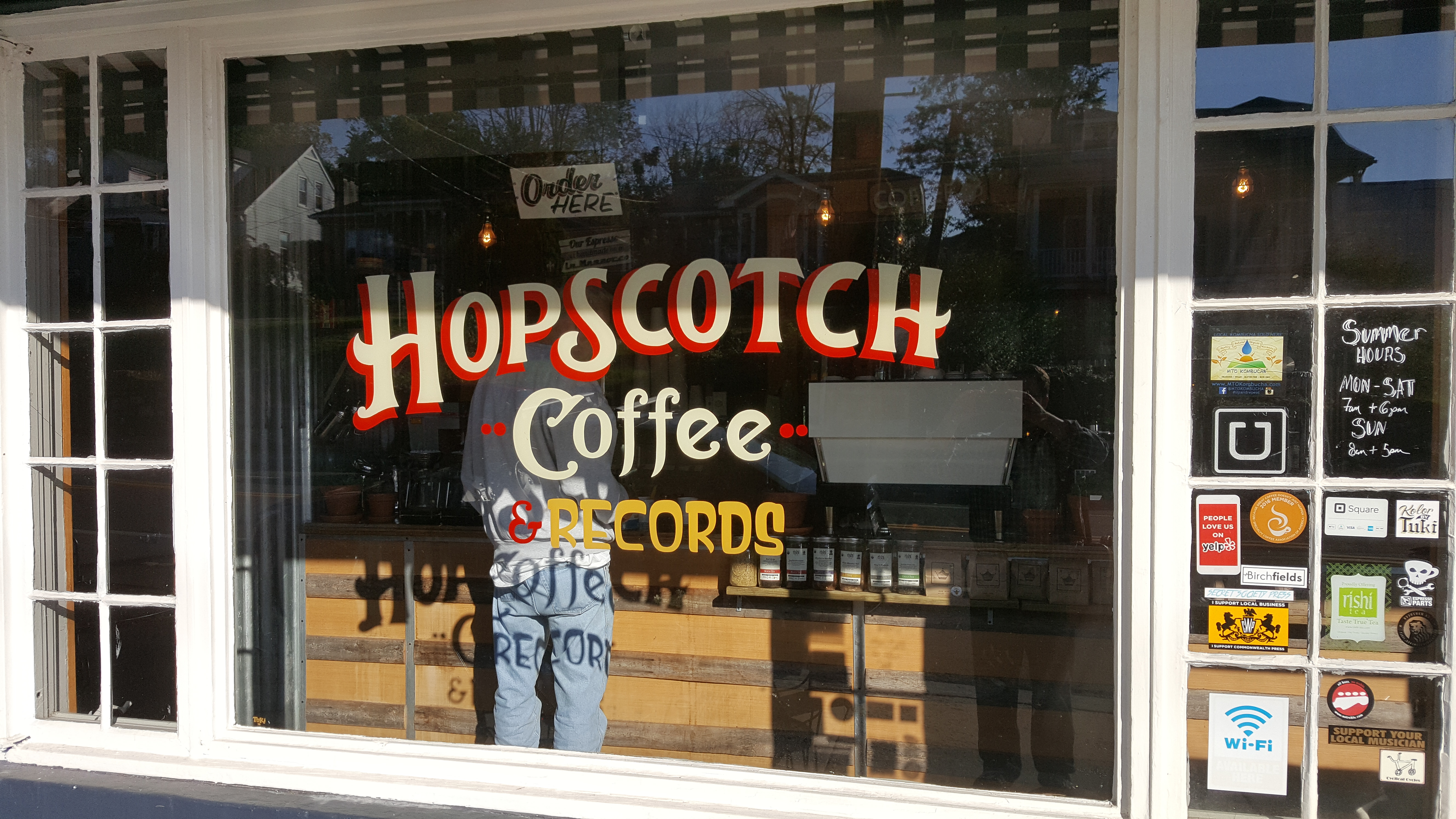 Hopscotch Coffee & Records